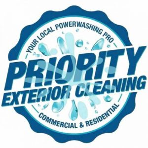 Priority Exterior Cleaning, LLC. Content Sections Logo